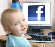 baby on facebook